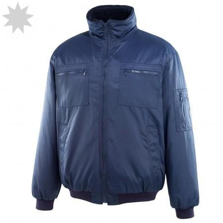PU Waterproof Unlined Jacket - NAVY