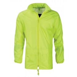 PU Coated Soft Feel Hi Vis Class 3 Jacket - YELLOW