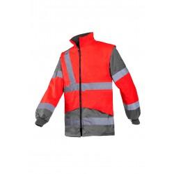 Hi Vis Class 3 Breathable Jacket - YELLOW