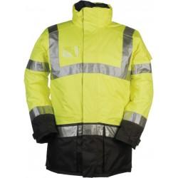 Hi Vis Class 3 Executive Breathable Jacket - YELLOW
