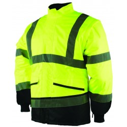 Hi Vis Soft Feel Overtrousers - YELLOW