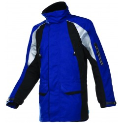 Hi Vis Flame Retardant Vest with Zip - YELLOW